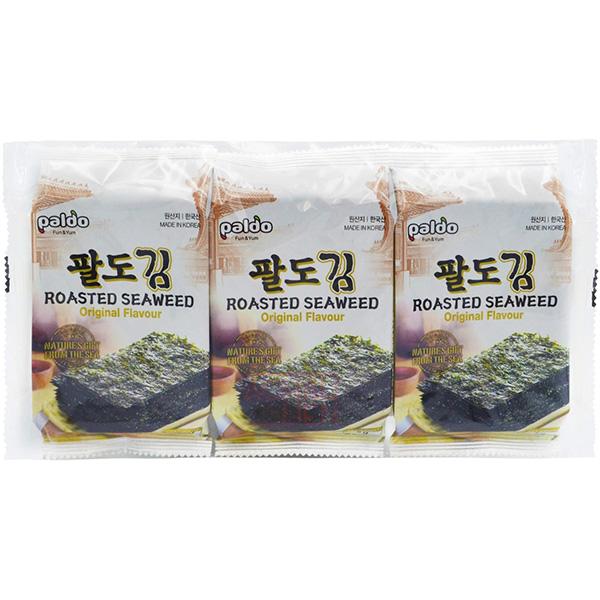 Paldo Roasted Seaweed Original Flavour - 3*5g
