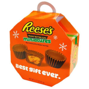Reeses Peanut Butter Miniatures Ornaments Box - 61g