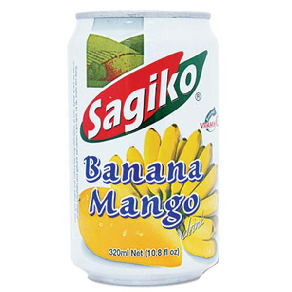 Sagiko Banana Mango Drink - 320mL