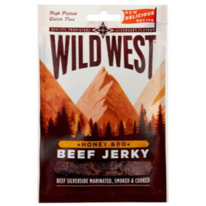 Wild West Honey BBQ Beef Jerky - 25g
