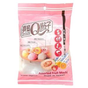 Assorted Fruit mini Mochi - 120g