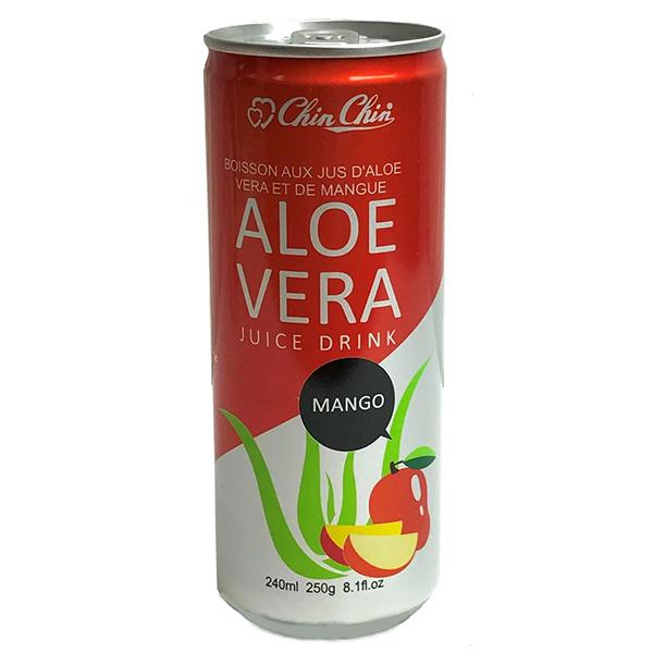 Chin Chin Aloe Vera Juice Drink Mango - 240mL