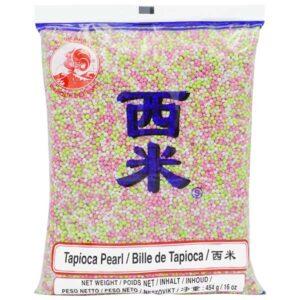 Cock Brand Tapioca Mix Pearl (S) - 454g