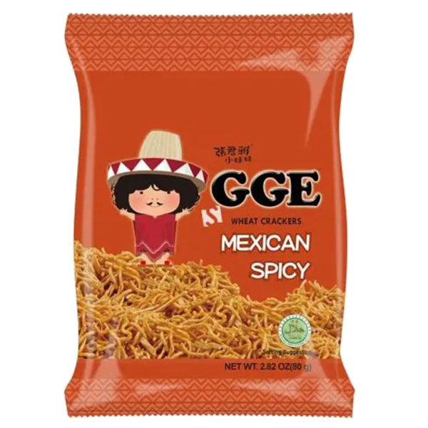 GGE Wheat Crackers Mexican Spicy - 80g