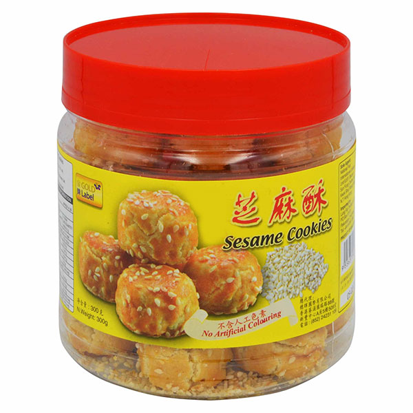 Gold Label Sesame Cookies - 300g