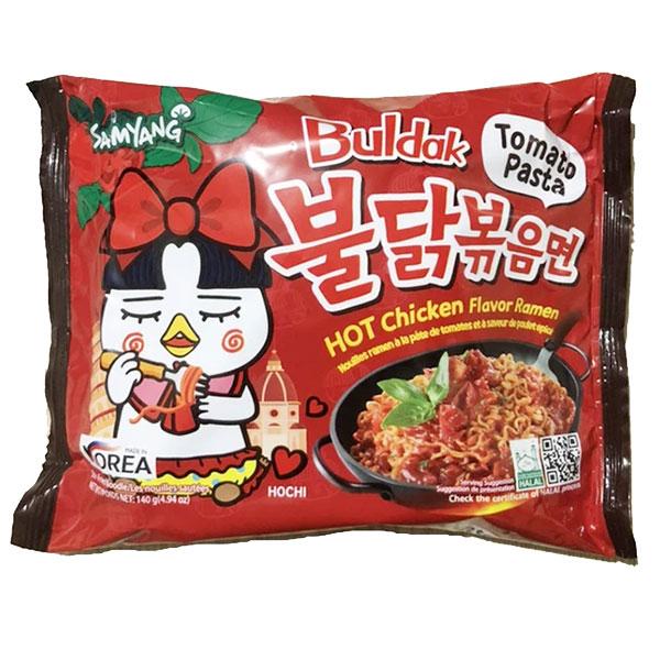 Hot Chicken Flavor Ramen Tomato Pasta - 140g