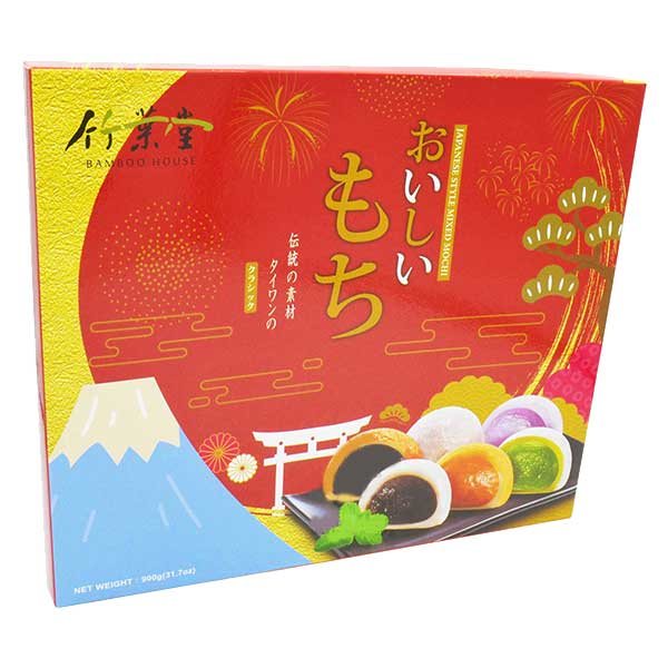 Japanese Style Mix Flavor Mochi - 900g