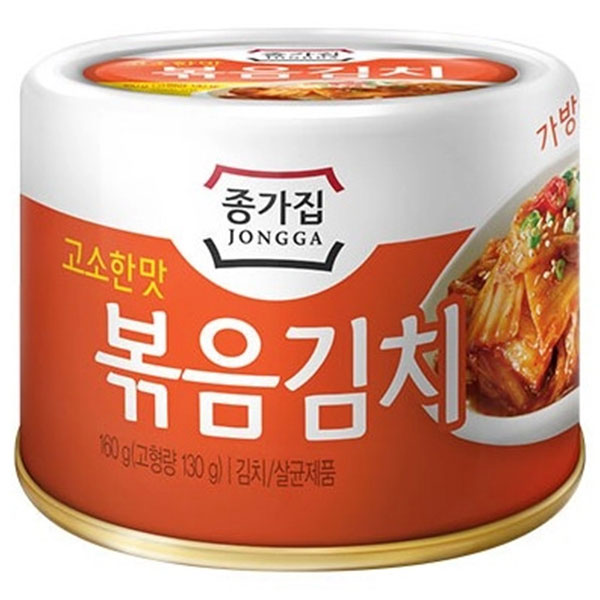 Jongga Roasted Kimchi - 160g