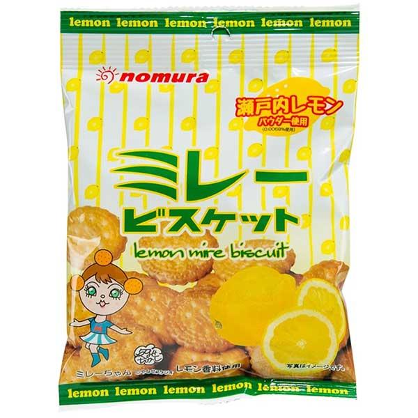 Nomura Biscuit Lemon Flavor - 70g