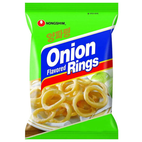 Nongshim Onion Flavored Rings - 90g