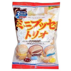 Tenkei Mini Bouchee Trio Cake - 140g