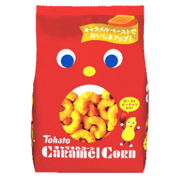 Tohato Caramel Corn Snack - 80g