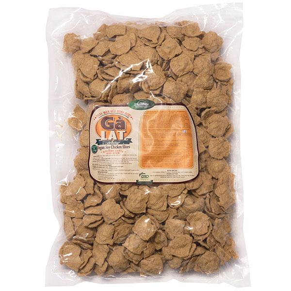Vegan Soy Chicken Slices/Ga Lat Chay - 1kg