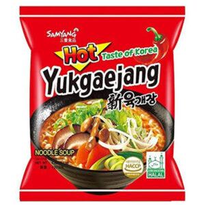 Yukgaejang Hot Mushroom Flavor - 120g