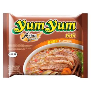 Yum Yum Instant Noodles Beef Flavor - 60g