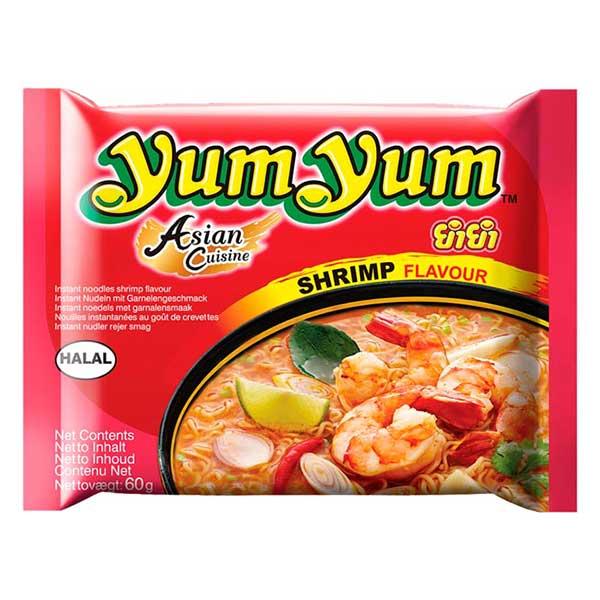 Yum Yum Instant Noodles Shrimp Flavor - 60g
