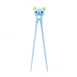 Bear Plastic Children Chopsticks - 22cm