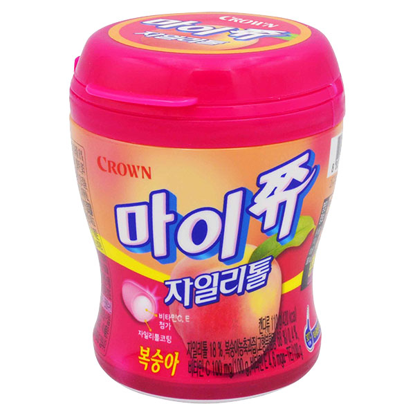 Crown Mychew Candy Peach Flavor - 110g