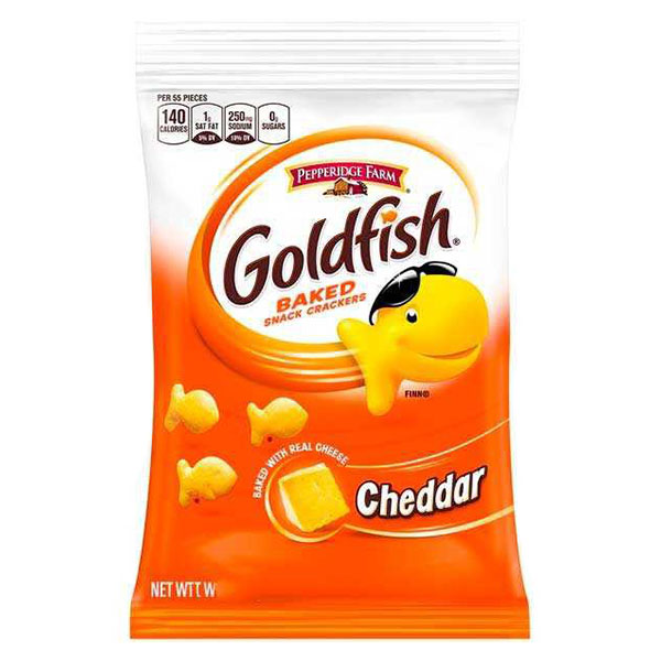 Goldfish Baked Cheddar Small - 43g