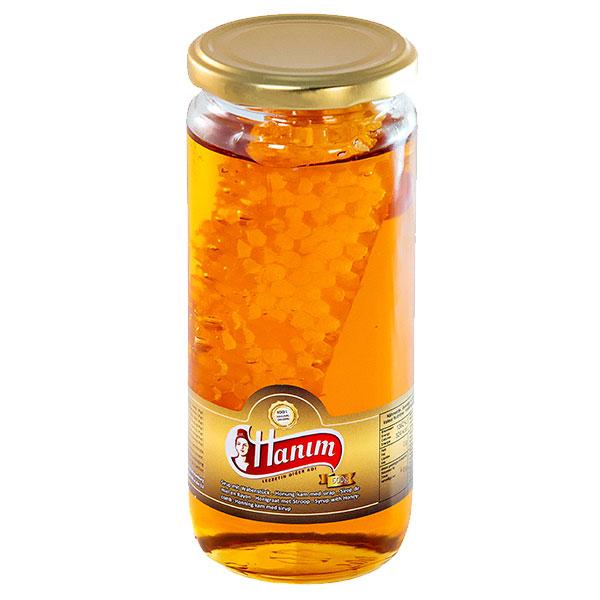 Honey w/ Honeycomb Hanim - 600g