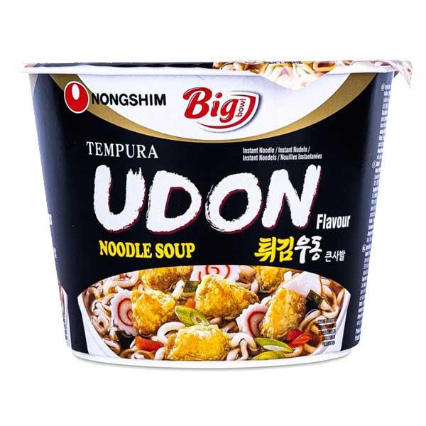 Nongshim Big Bowl Tempura Udon Flavor Noodle - 111g