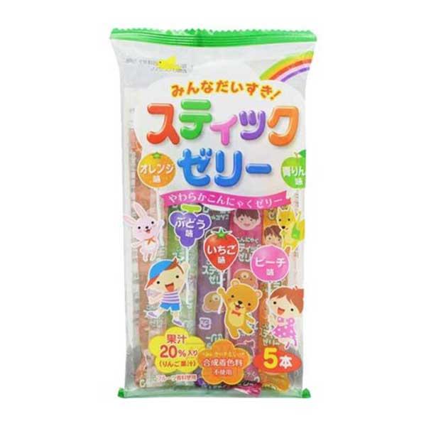 Ribon Jelly Sticks Minna Daisuki - 55g