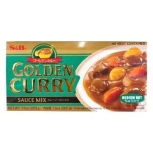 S&B Golden Curry Medium Hot - 220g