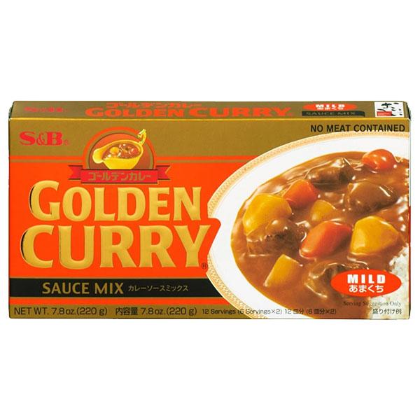 S&B Golden Curry Mild - 220g