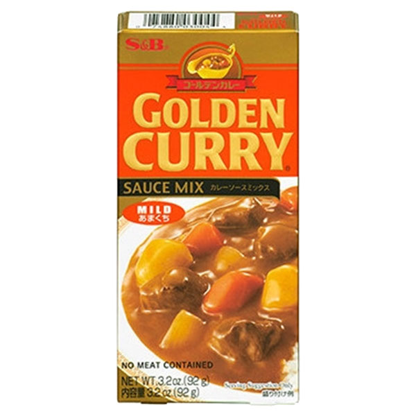 S&B Golden Curry Mild - 92g