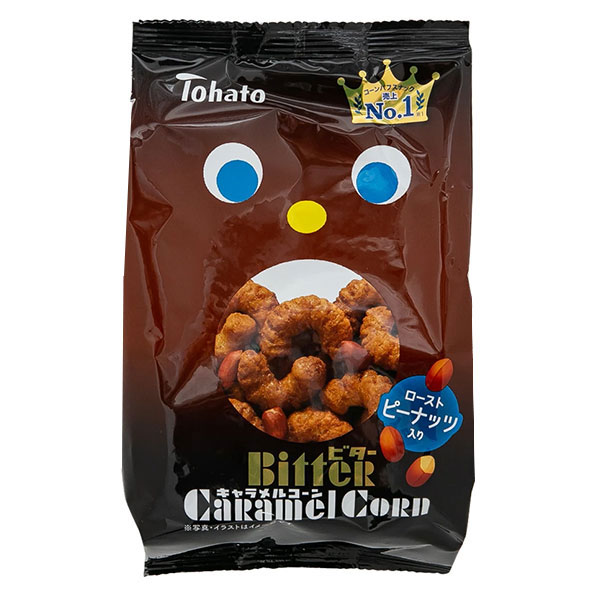 Tohato Bitter Caramel Corn Snack - 77g