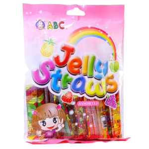ABC Jelly Straws Assorted - 260g