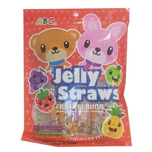 ABC Jelly Straws Fruit Flavor - 300g