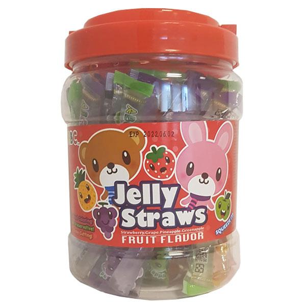 ABC Jelly Straws Fruit Flavor - 800g
