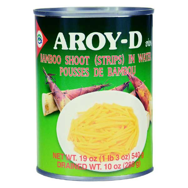 Aroy-D Bamboo Shoot Strip - 540g