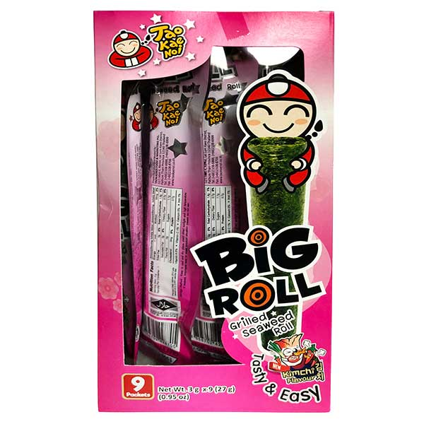 Big Roll Grilled Seaweed Kimchi FLavour - 27g