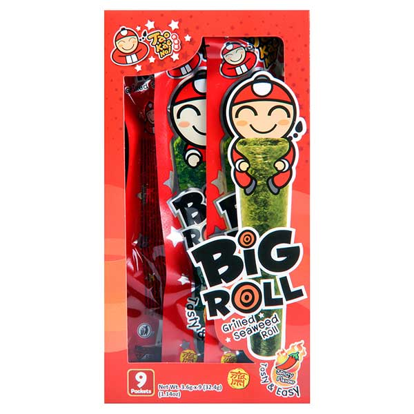 Big Roll Grilled Seaweed Spicy FLavour - 27g