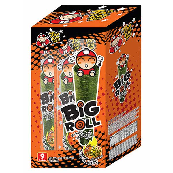 Big Roll Grilled Seaweed Tom Yum Goong FLavour - 27g