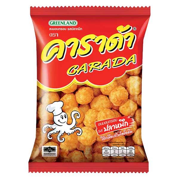 Carada Rice Ball Cuttlefish Flavored - 38g