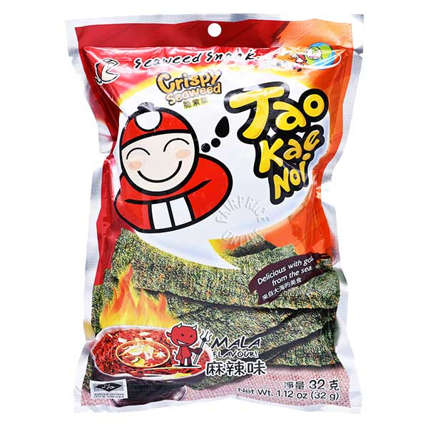 Crispy Seaweed Mala Flavor - 32g
