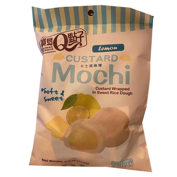 Custard Mochi Lemon Flavor - 110g