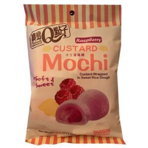 Custard Mochi Raspberry Flavor - 110g