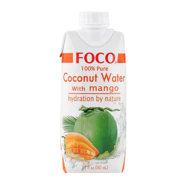 Foco Coconut Water w/ Mango - 330mL