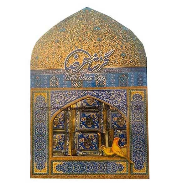 Gaz Shah Reza Pistachio 35% - 400g
