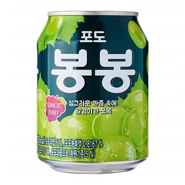 HAITAI Grape Bon Bon Juice Drink - 238mL