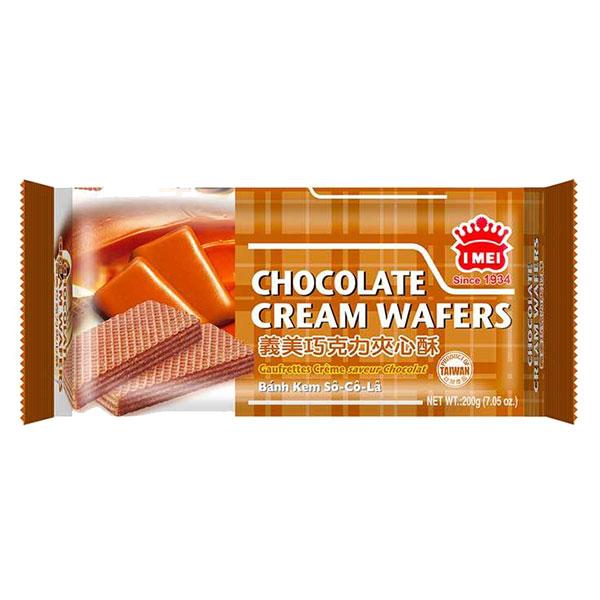 I Mei Chocolate Cream Wafers - 200g