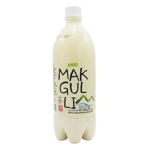 Jinro Makgeolli Rice Wine (6%) - 750mL