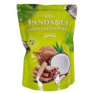 Kaew Crispy Roll Pandan Flavor - 100g