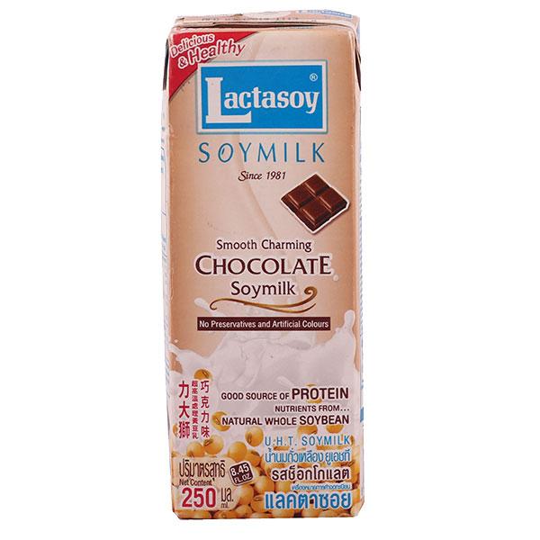 Lactasoy Soy Milk Chocolate - 250mL
