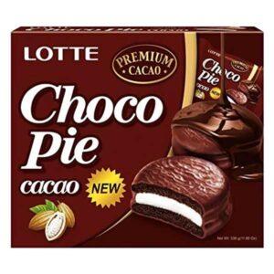 Lotte Choco Pie Cacao - 336g