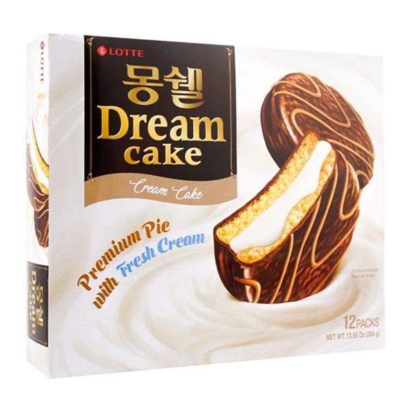 Lotte Moncher Dream Cream Cake - 384g